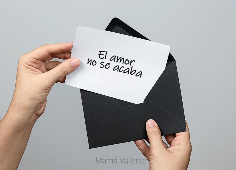 amor no se acaba